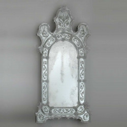 "Transparent ""Vanna"" venetian mirror"