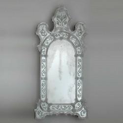 """""""Vanna"""" espejo veneciano transparente"""