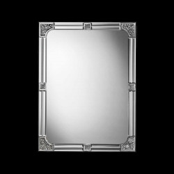 "Transparent ""Tecla "" venetian mirror"