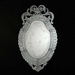 """""""Giorgia """" espejo veneciano transparente"""