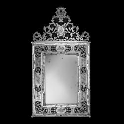 """""""Vincenza """" miroir vénitien transparent"""
