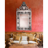 "Transparent ""Vincenza "" venetian mirror"