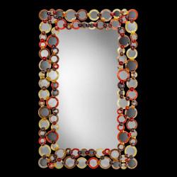 """""""Greta"""" espejo veneciano multicolor"""