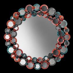 """Lodovica "" espejo veneciano multicolor"