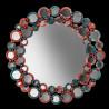 """Multicolor """"Lodovica """" venetian mirror"""