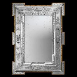 """Fausta "" venetian mirror"