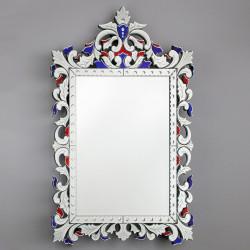 """""""Francesca """" espejo veneciano multicolor"""