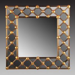 "Gold ""Lea"" venetian mirror"