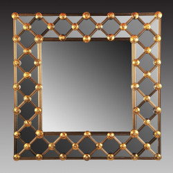 """Lea"" espejo veneciano Oro"