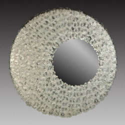 """Luna"" espejo veneciano transparente"
