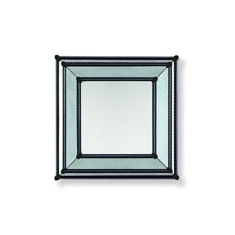 Black cassandra venetian mirror venetian mirrors for Black venetian mirror