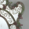 """Grün und rosa """"Sebastian"""" venezianische spiegel"""