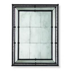"Schwarz ""Veronica"" venezianische spiegel"