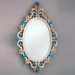 """Multicolor """"Sprezzante"""" venetian mirror"""