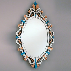 """Multicolor """"Sprezzante"""" venezianische spiegel"""