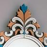 """""""Sprezzante"""" espejo veneciano multicolor"""