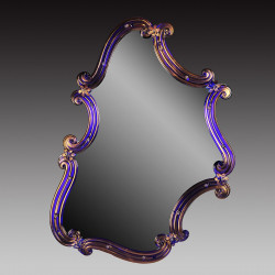 """Rosamunda Blu"" венецианские зеркала синий"