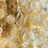 """""""Sole"""" miroir vénitien ambre"""