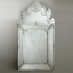 """""""Floridia """" espejo veneciano transparente"""