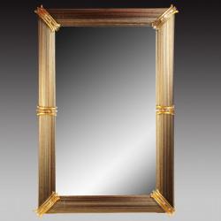 "Gold ""Rosita"" venetian mirror"