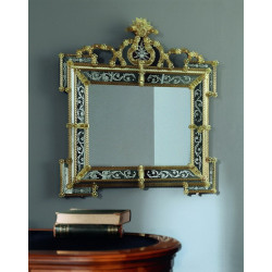 "Amber ""Elora"" venetian mirror"