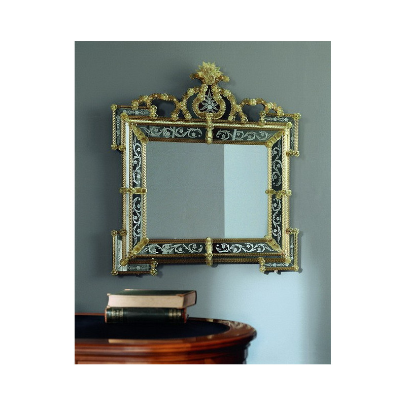 gelb elora venezianische spiegel venetian mirrors. Black Bedroom Furniture Sets. Home Design Ideas