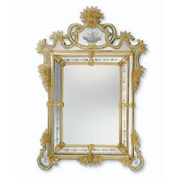 """Valentina"" венецианские зеркала янтарный"