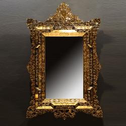 """""""Aladina"""" miroir vénitien or"""