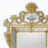 "Amber ""Valentina"" venetian mirror"