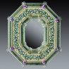 "Green ""Estella "" venetian mirror"