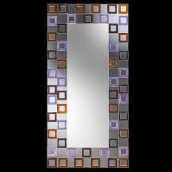 """Editta"" espejo veneciano multicolor"