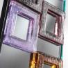 "Multicolor ""Editta"" venetian mirror"