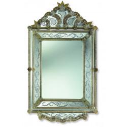 "Mohamed - Amber ""Isadora"" venetian mirror"