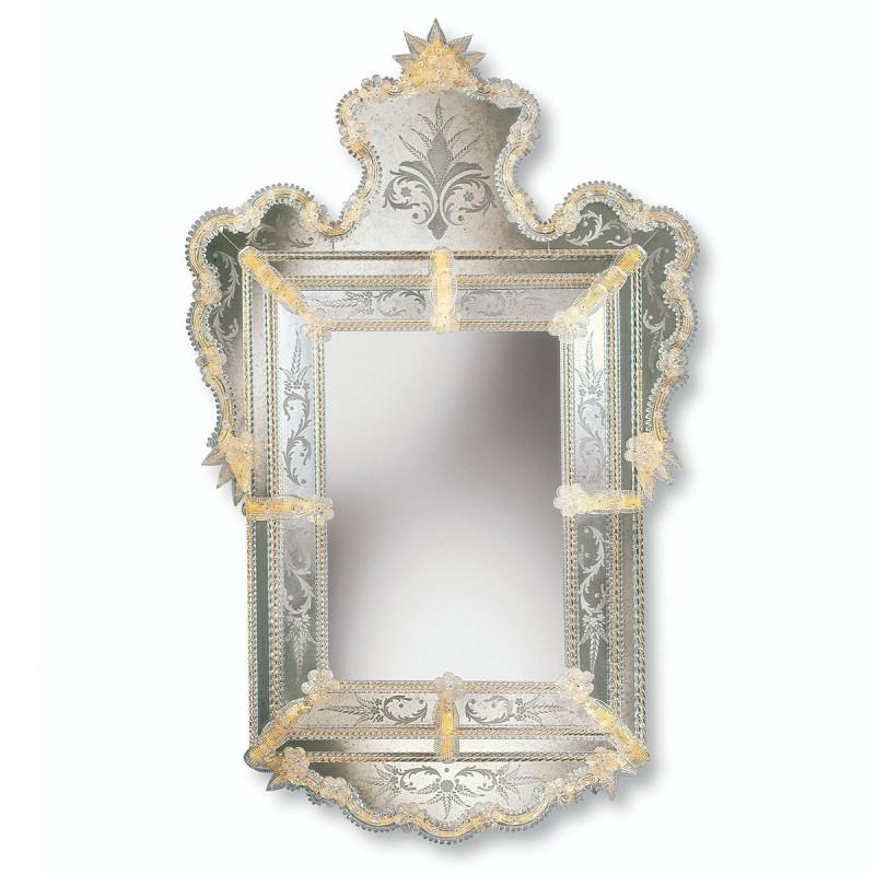 gelb alberta venezianische spiegel venetian mirrors. Black Bedroom Furniture Sets. Home Design Ideas