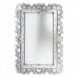 """Magda"" miroir vénitien cristal"