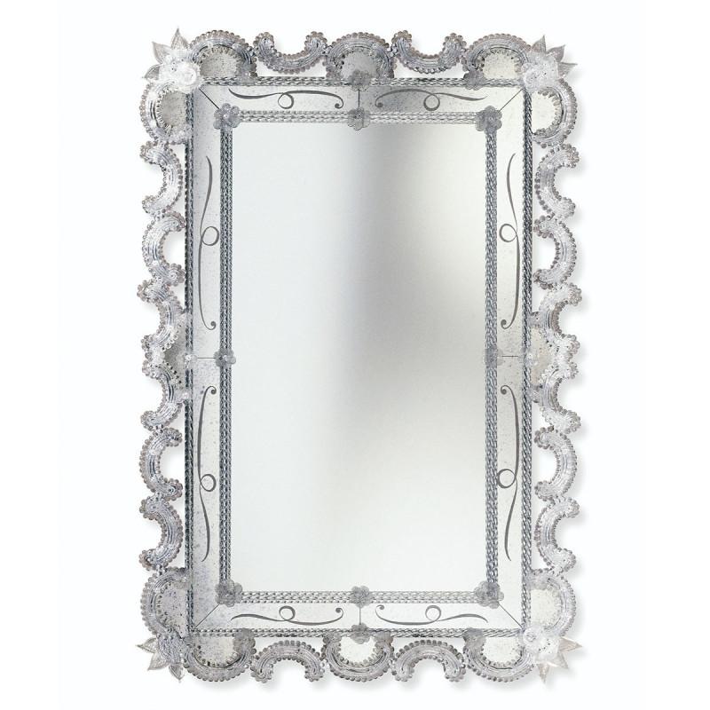 Crystal Magda Venetian Mirror