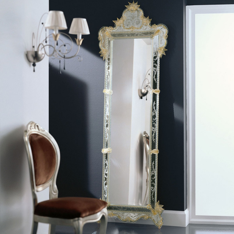 Gold Venere Venetian Mirror