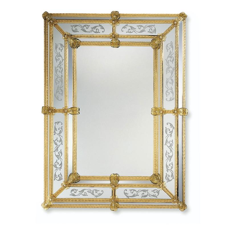 gelb viola venezianische spiegel venetian mirrors. Black Bedroom Furniture Sets. Home Design Ideas