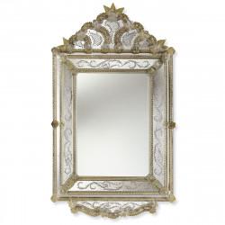 """""""Isadora"""" miroir vénitien ambre"""