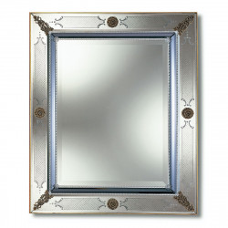 Miroirs muraux 2 venetian mirrors for Miroir venitien rectangulaire