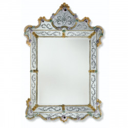 """Glenda"" espejo veneciano oro"