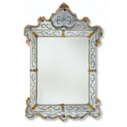"""Glenda"" miroir vénitien or"