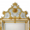 "Amber ""Violante"" venetian mirror"