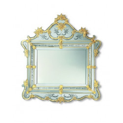"Gold ""Perla"" venetian mirror"