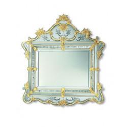 "Gold ""Selma"" venetian mirror"