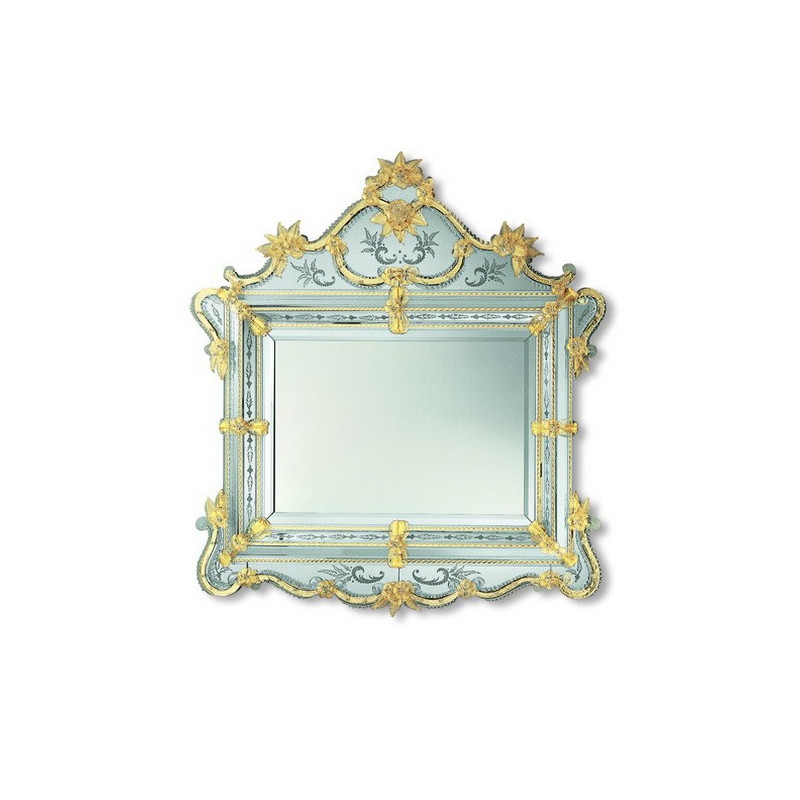 gold selma venezianische spiegel venetian mirrors. Black Bedroom Furniture Sets. Home Design Ideas
