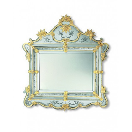 "Gold ""Selma"" venezianische spiegel"