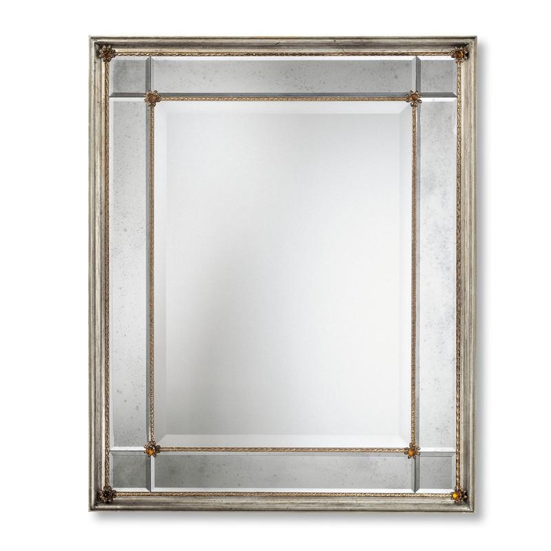 Rosalinda miroir v nitien venetian mirrors for Miroir venitien rectangulaire