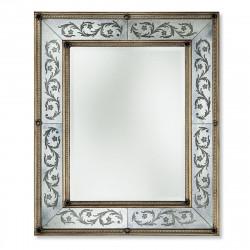 """Silver """"Annabella"""" venetian mirror"""