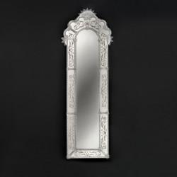 """Mirella"" miroir vénitien cristal"